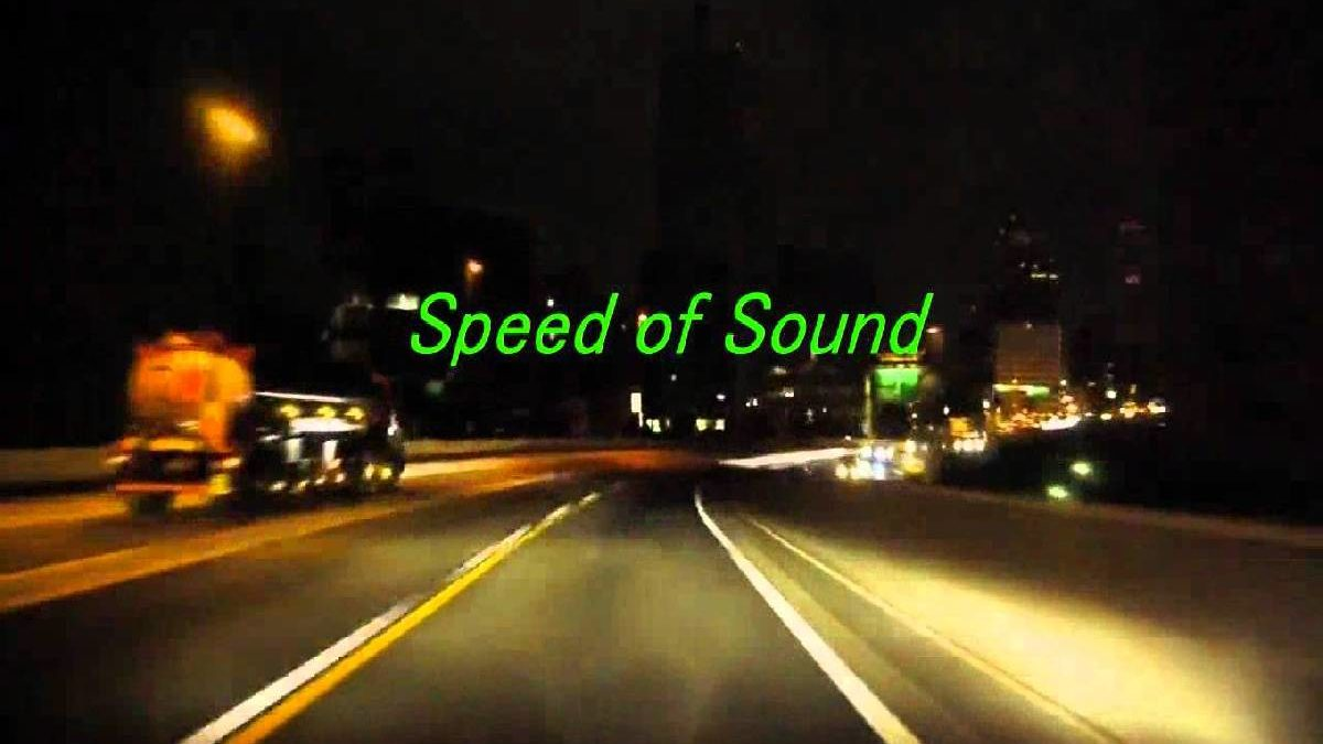 What is the Speed of Sound? – Means, Medium, Spread, and More