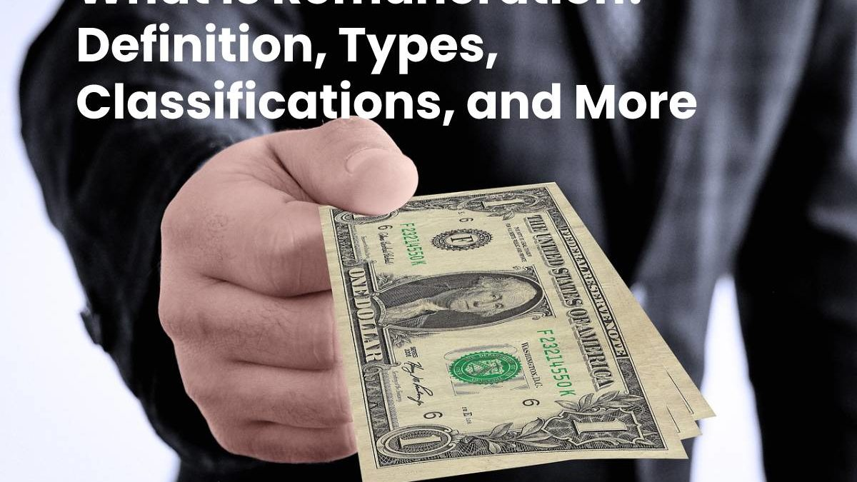 What is Remuneration? – Definition, Types, Classifications, and More
