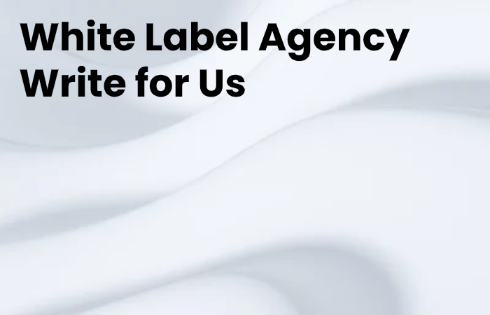 White Label Agency Write for Us
